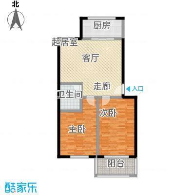 鑫河湾91.20㎡户型