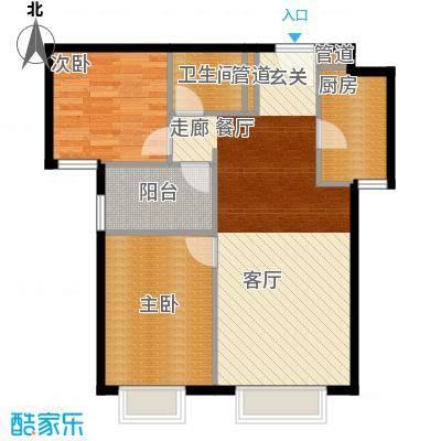 北京城建筑华年91.00㎡北京城建・筑华年5号楼C面积9100m户型