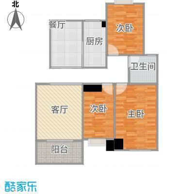 香缇豪庭112.69㎡户型3室2厅---丁鑫20150105