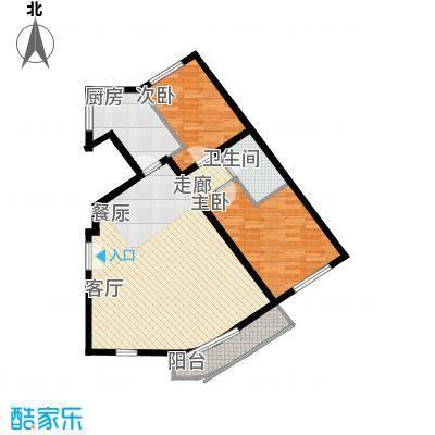 本家润园108.09㎡6/8#三单元B4型面积10809m户型
