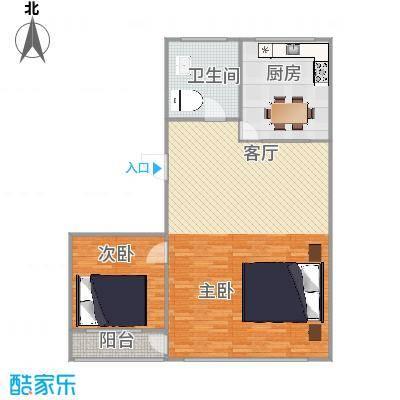 70平2室2厅