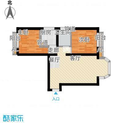 珠江峰景二期2号楼B户型