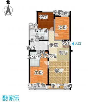 嘉美风尚中心138.73㎡2号楼D面积13873m户型