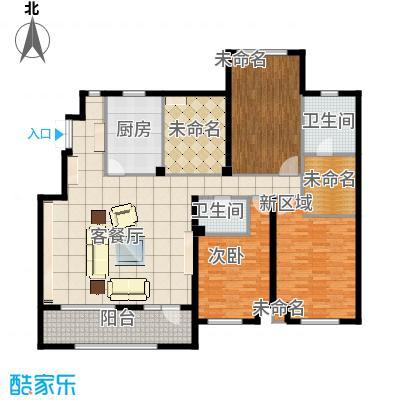 江户雅致171.42㎡A-3户型4室2厅2卫
