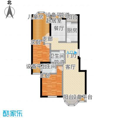 中海城圣朝菲3AE正户型