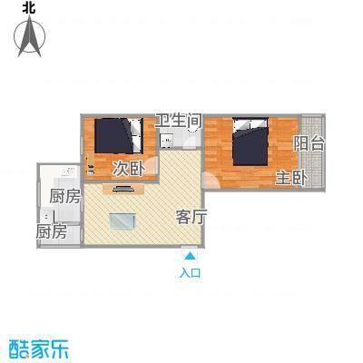 吉庆里71.08方两室一厅