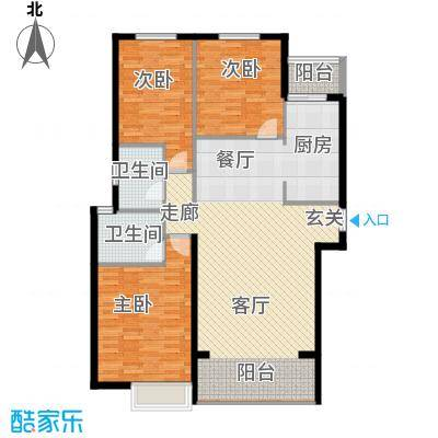 裕华嘉苑118.00㎡G-01118面积11800m户型
