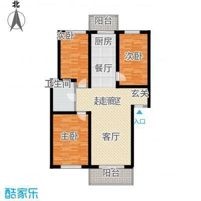 恒益馨苑104.90㎡i面积10490m户型
