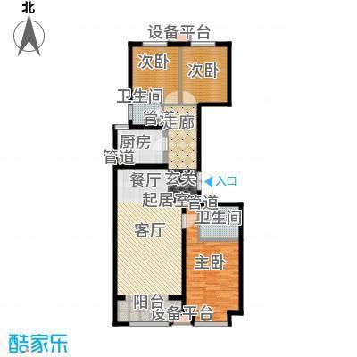 鹭港小区503#楼B-1户型