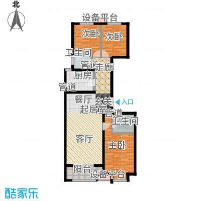 鹭港小区502#楼B-2户型