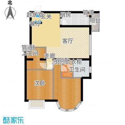 鹿港嘉苑114.30㎡2号楼I面积11430m户型