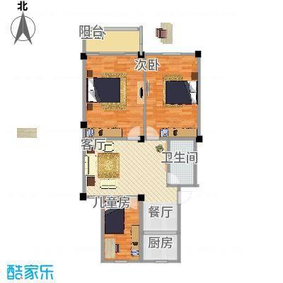 98三室一厅一厨一卫