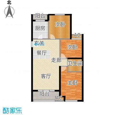 悦水澜庭9号楼C3户型