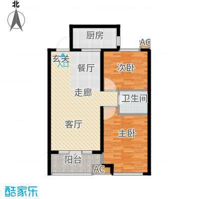 悦水澜庭9号楼C2户型