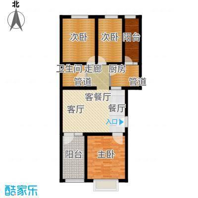 新新家园99.40㎡一号楼-A3面积9940m户型