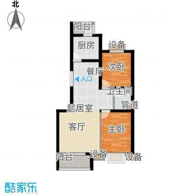 东兴公寓93.77㎡A面积9377m户型