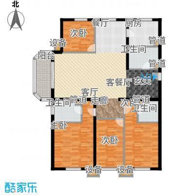 奥特锦鸿嘉苑4居室2户型