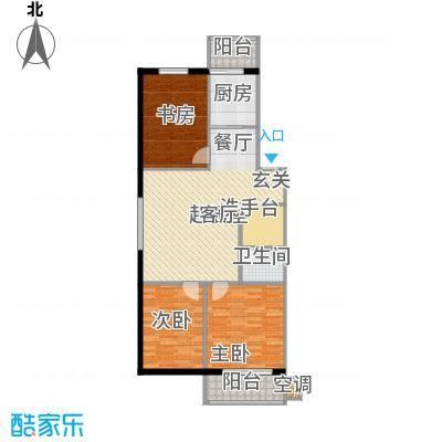 四季枫景91.62㎡4号楼A面积9162m户型