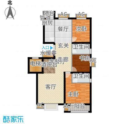 荣川沁园137.38㎡Q面积13738m户型