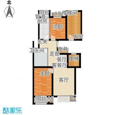 荣川沁园102.24㎡P面积10224m户型