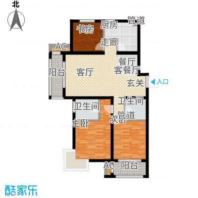 荣川沁园133.59㎡A-1面积13359m户型