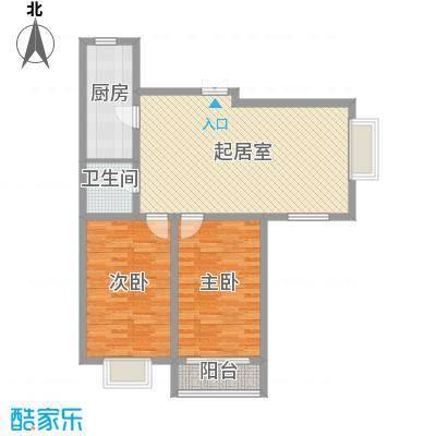 西山公馆111.90㎡C面积11190m户型