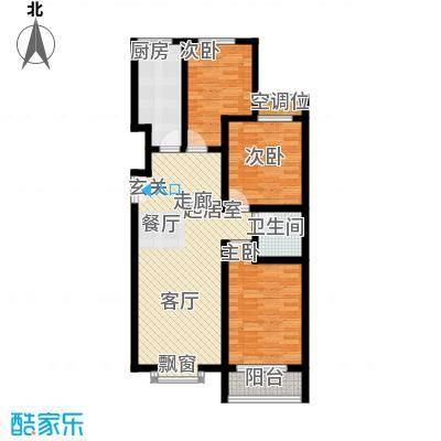 融鑫逸景109.82㎡2#3#楼F面积10982m户型