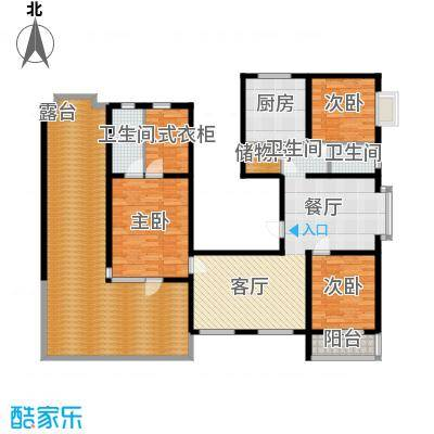 金水豪庭163.76㎡面积16376m户型