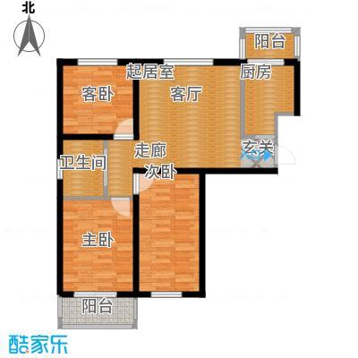 文馨花园91.40㎡S21面积9140m户型