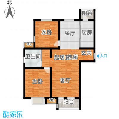 京港国际城101.80㎡高层标准层面积10180m户型