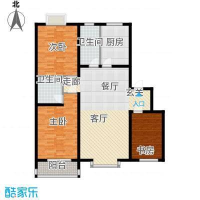 金水豪庭123.11㎡面积12311m户型