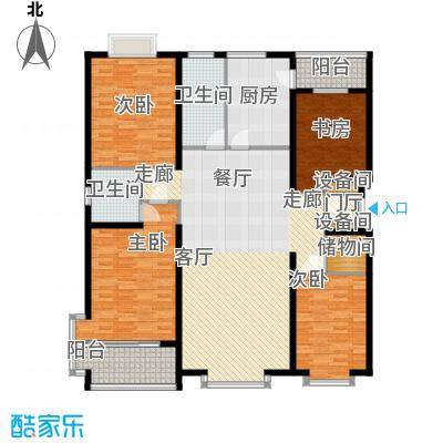 金水豪庭171.86㎡面积17186m户型