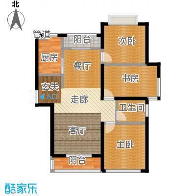 丽景荣城115.00㎡15A面积11500m户型