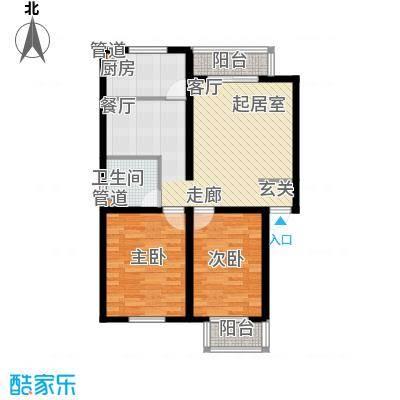 龙溪清雅园92.00㎡A面积9200m户型