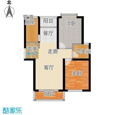 丽景荣城96.00㎡15D面积9600m户型