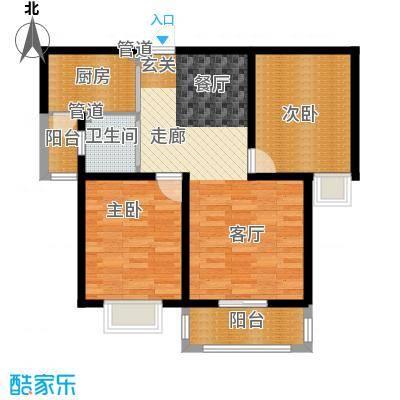 丽景荣城95.00㎡15C面积9500m户型