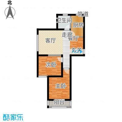 丽景荣城93.00㎡15E面积9300m户型
