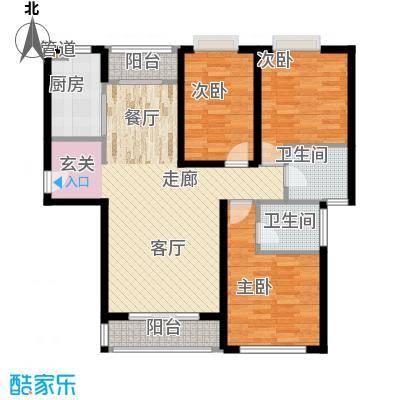 丽景荣城135.00㎡15B面积13500m户型