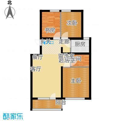 曹妃甸国际生态城万年丽海花城90.00㎡面积9000m户型