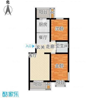 东华温馨家园90.82㎡G2面积9082m户型