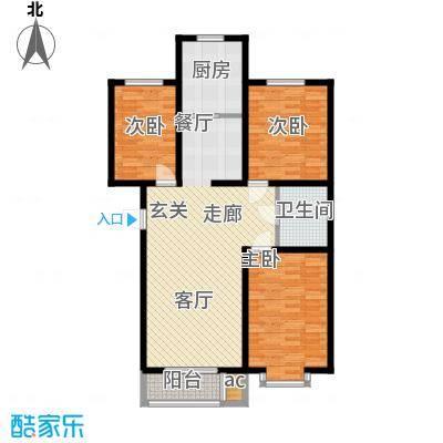 东华温馨家园99.06㎡L2面积9906m户型