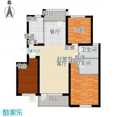 曹妃甸国际生态城万年丽海花城110.00㎡面积11000m户型