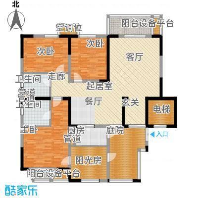 帝景豪庭178.11㎡面积17811m户型
