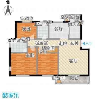帝景豪庭152.55㎡面积15255m户型