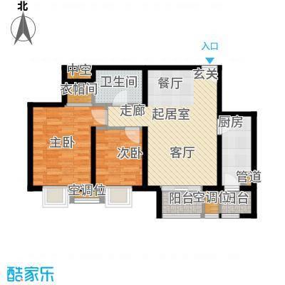 丰润帝景豪庭90.31㎡35号楼--A3面积9031m户型