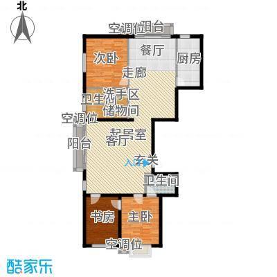 丰润帝景豪庭176.00㎡1号楼--A1+面积17600m户型