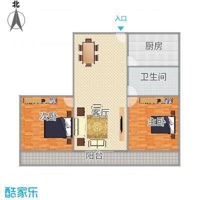 东兴花园2室2厅