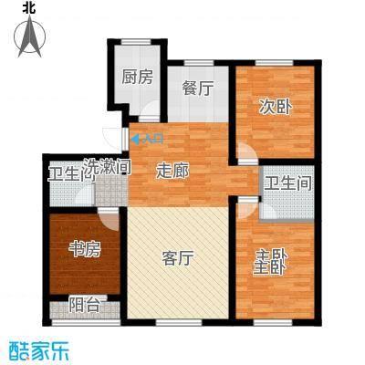 开元豪庭122.23㎡C42面积12223m户型