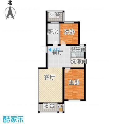 亨泰公寓99.28㎡B面积9928m户型