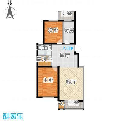 亨泰公寓100.79㎡B11面积10079m户型